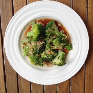 Weight loss wakerley sesame broccoli with lime
