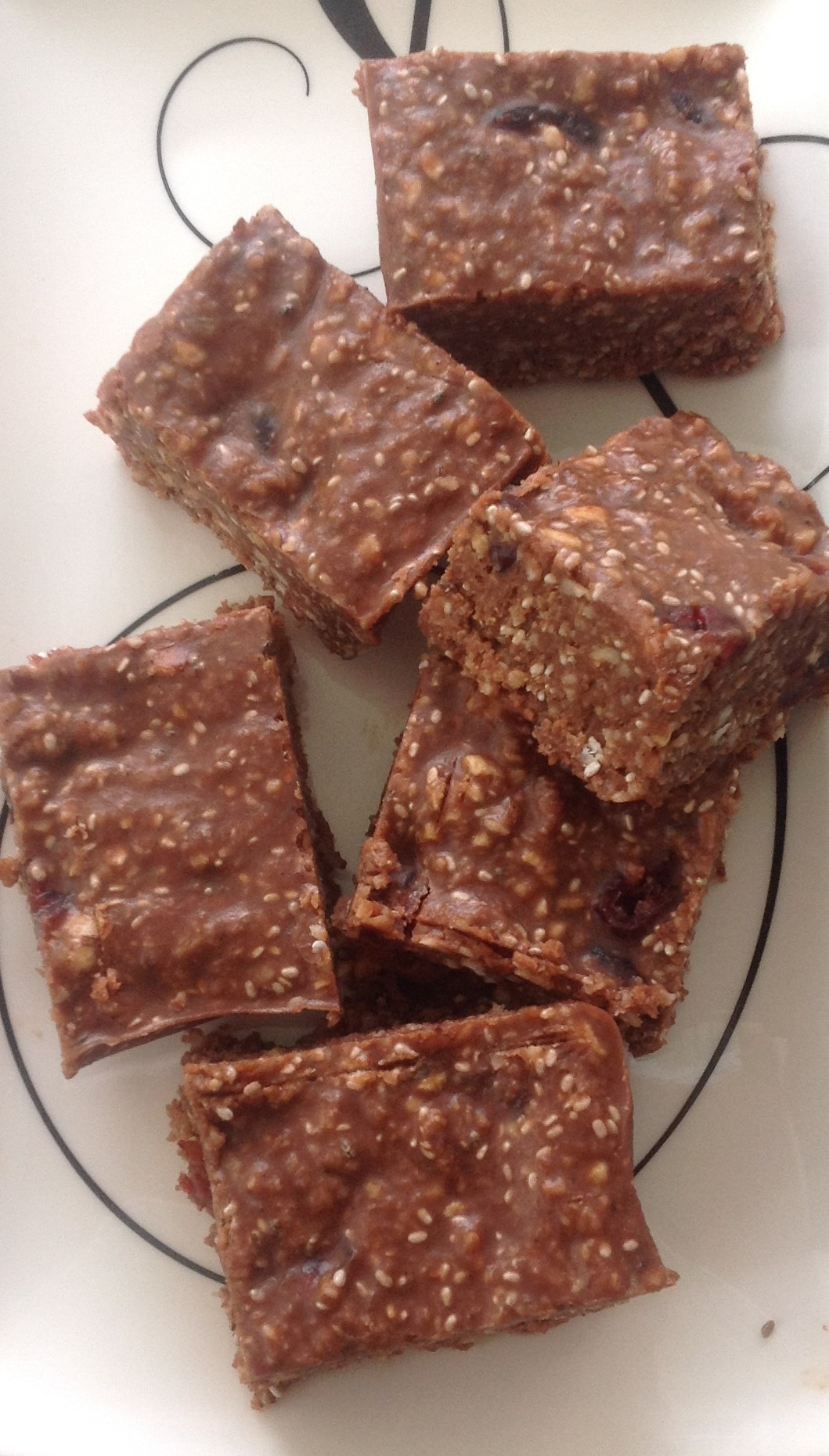 healthy chocolate slice Wakerley naturopath