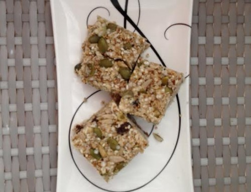 Muesli Squares – perfect for the lunchbox